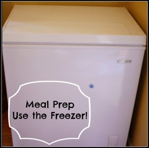 Meal Prep - Use the Freezer - Detours in Life