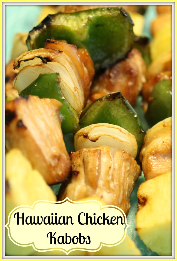 Hawaiian Chicken Kabobs - Detours in Life