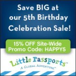 Little Passports 5th Birthday!