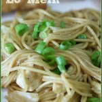 Chicken Lo Mein – Low Carb Style