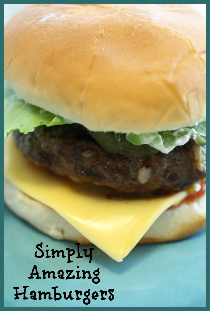 Simply Amazing Burgers - Detours in Life