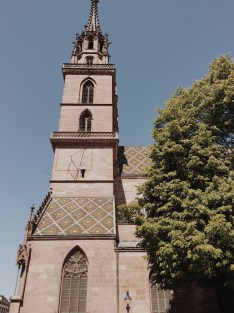 Side view of the cathedral