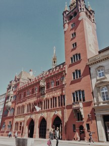 """The """"Rathaus"""" or Town Hall"""