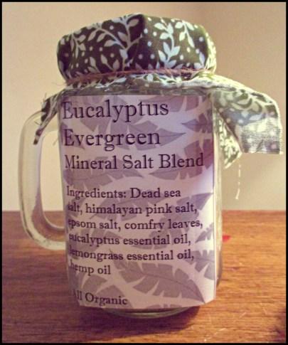 Mineral Salt Blend - Eucalyptus Evergreen