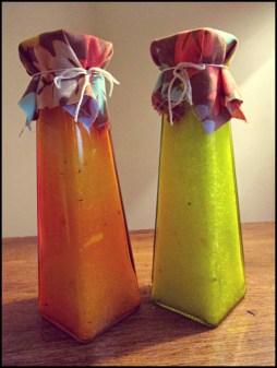 Mineral Salt Blend - Vertical Green & Orange