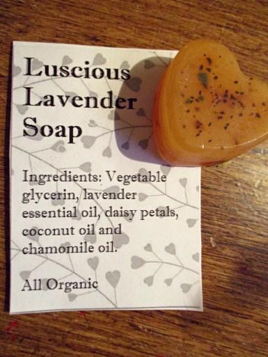 Soap - Luscious Lavender Handsoap