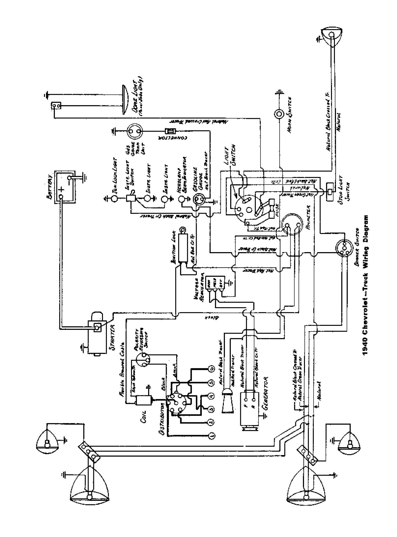 Chevy Bel Air Ignition Switch Wiring Diagram