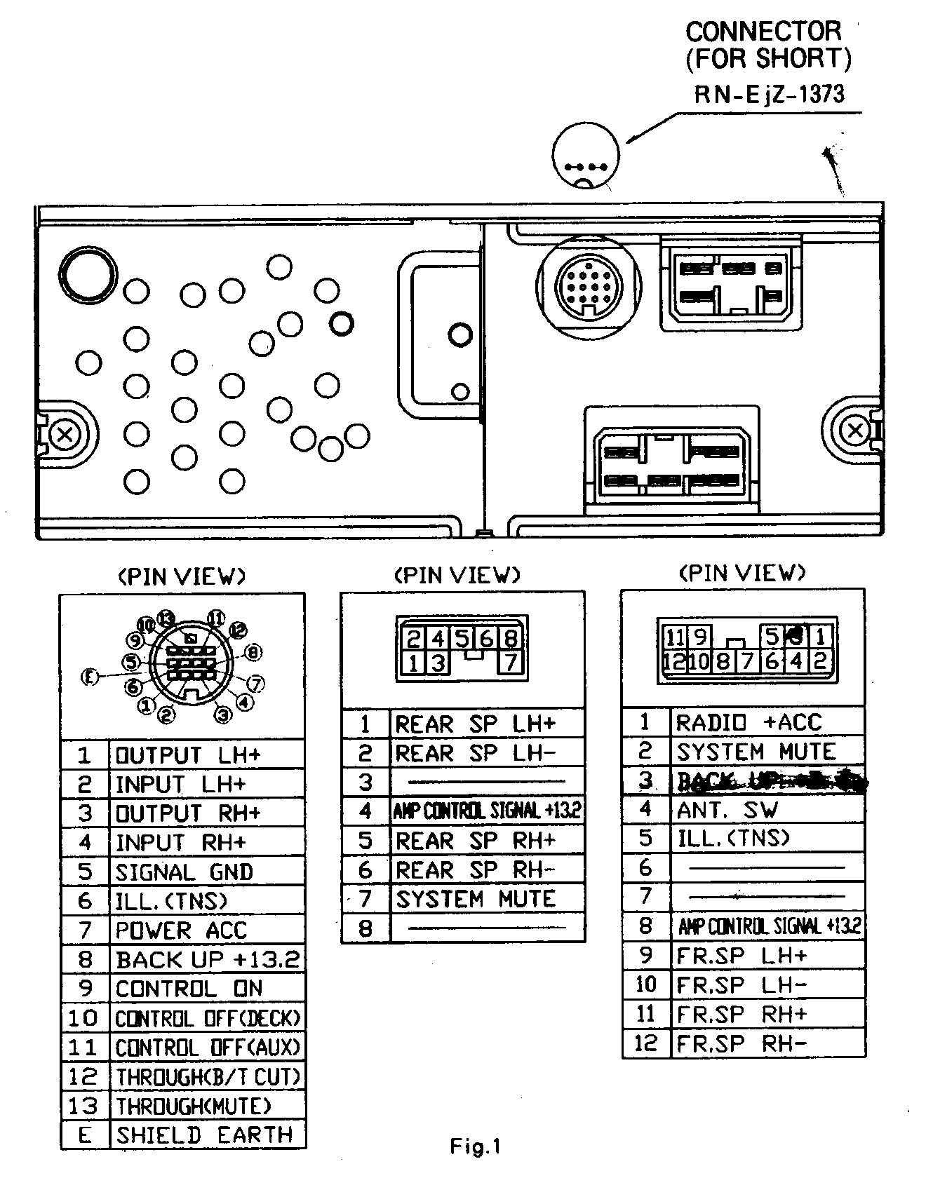 Mazda Mpv Stereo Wiring Diagram