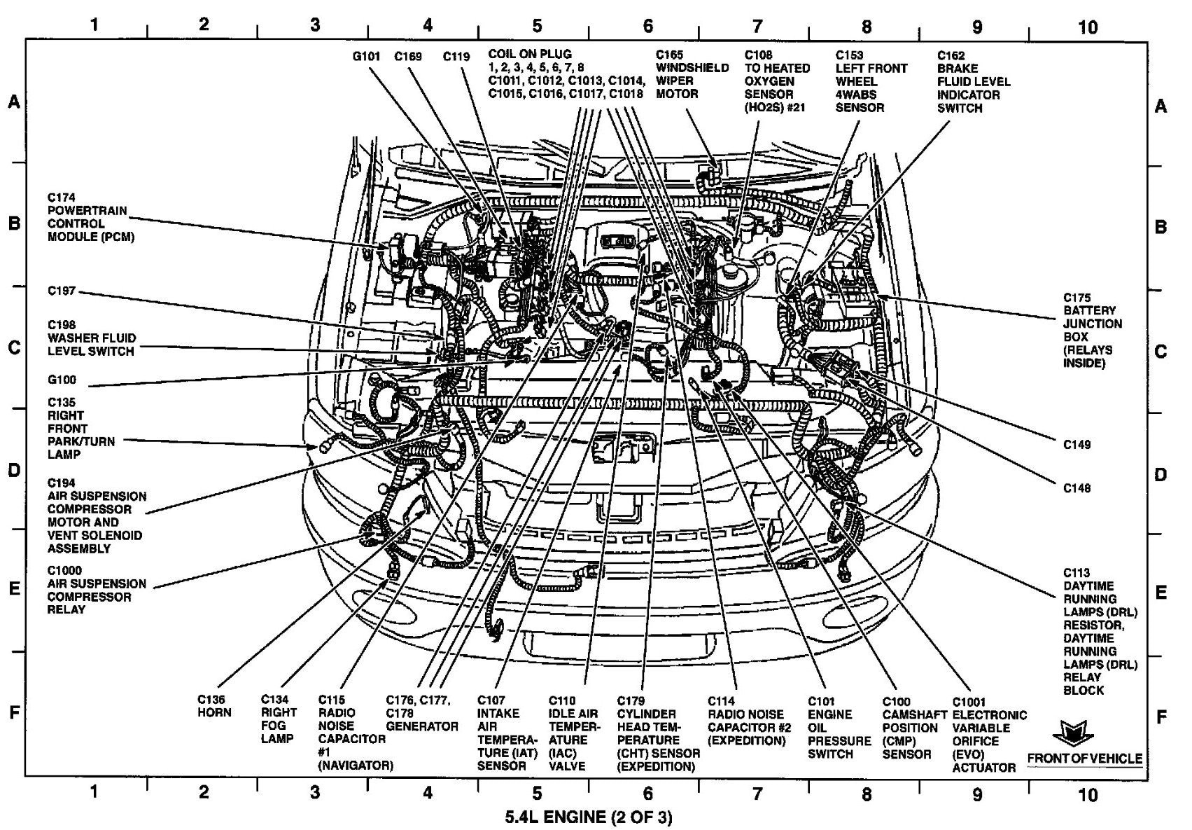 Magnificent 2008 Ford 5 4L Engine Diagram Wiring Diagram Wiring 101 Capemaxxcnl