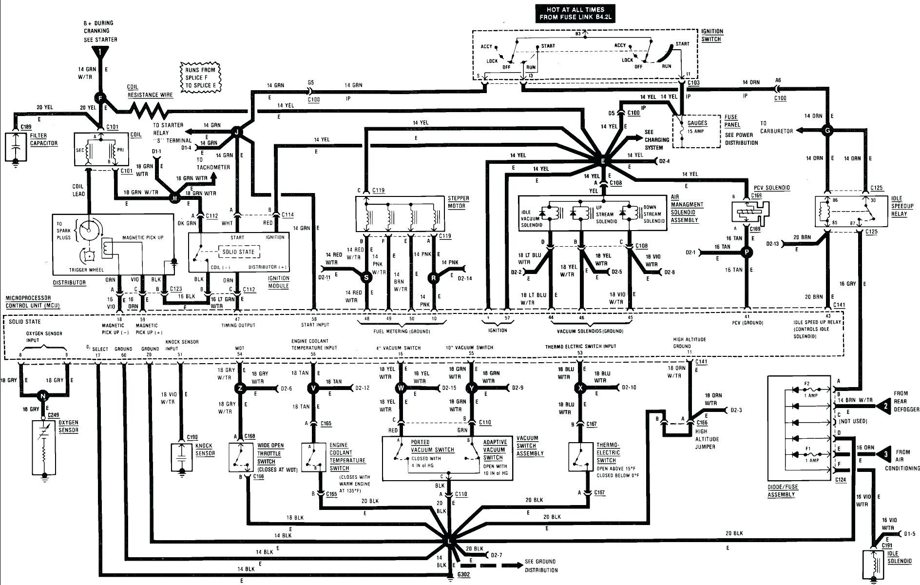 5 0 Wiring Harness Diagram