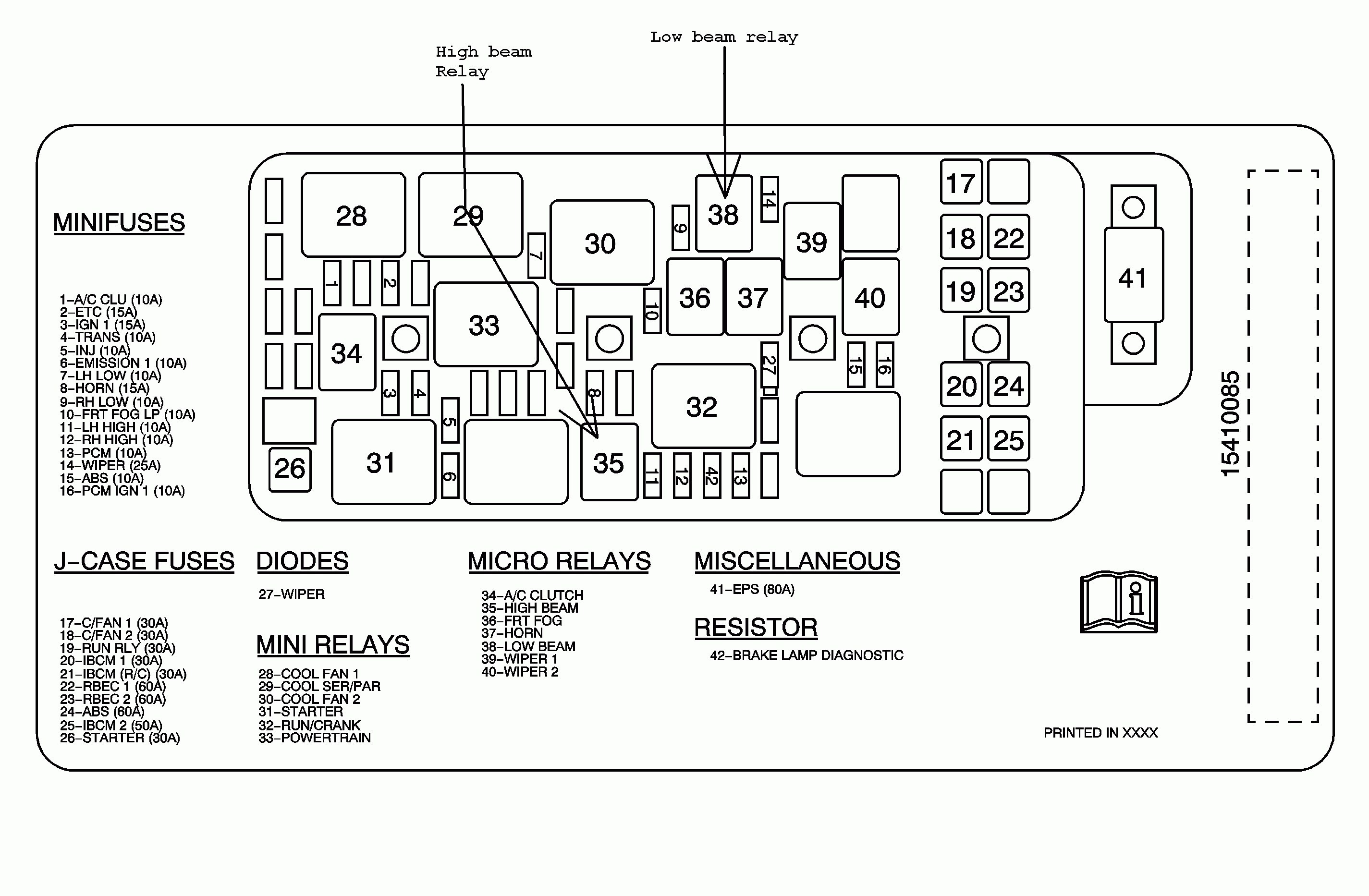 Chevy Trailblazer Stereo Wiring Diagram
