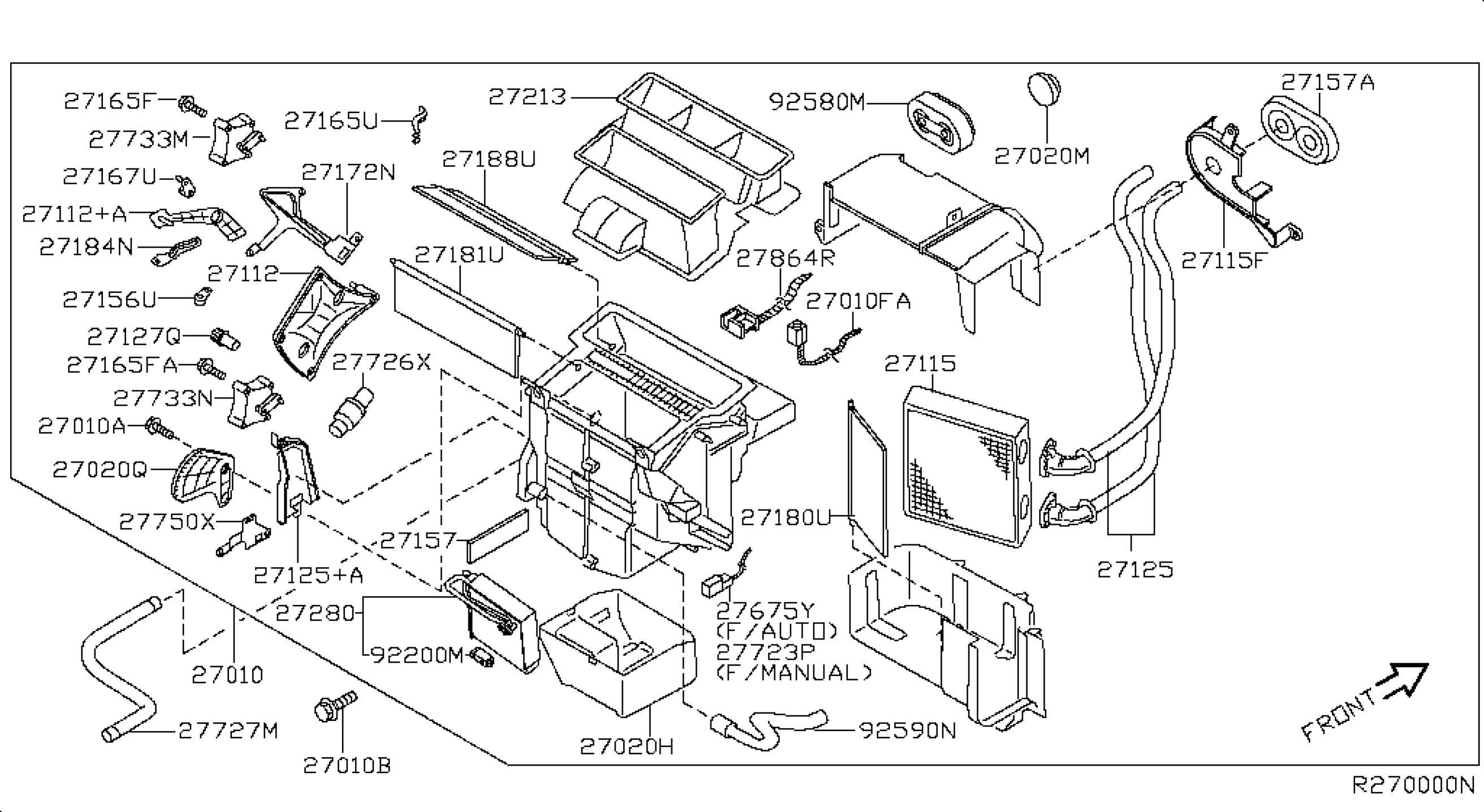 34 Nissan Maxima Parts Diagram