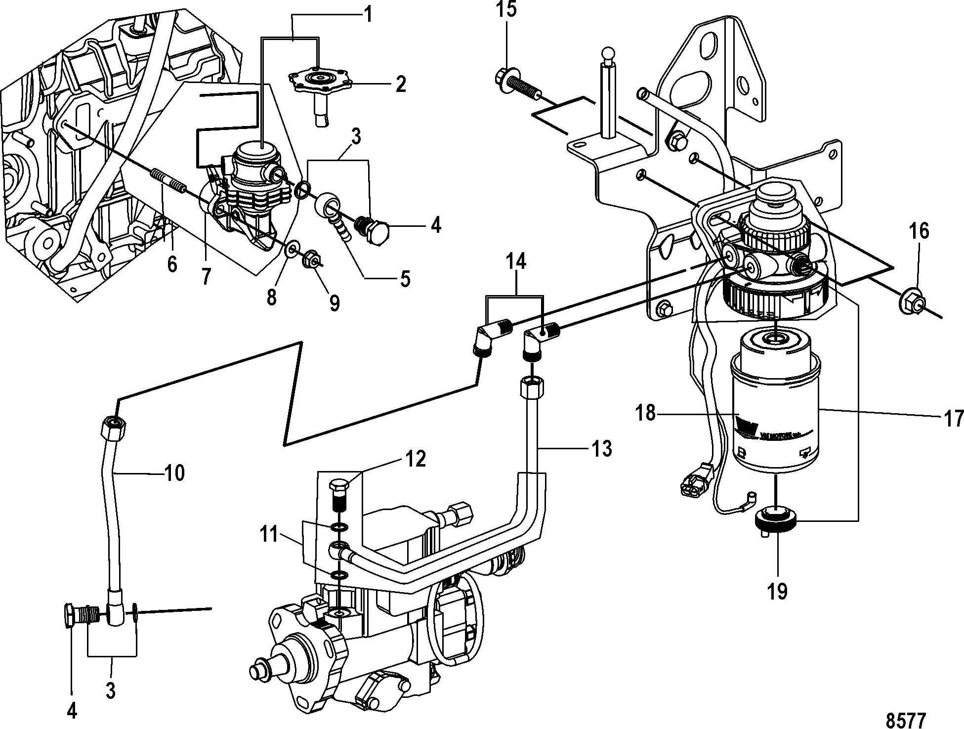 3 Liter Mercruiser Engine Diagram N N