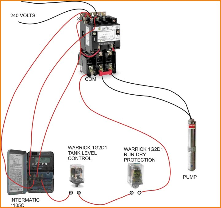 4 Pole Lighting Contactor Wiring Diagram | Shelly Lighting