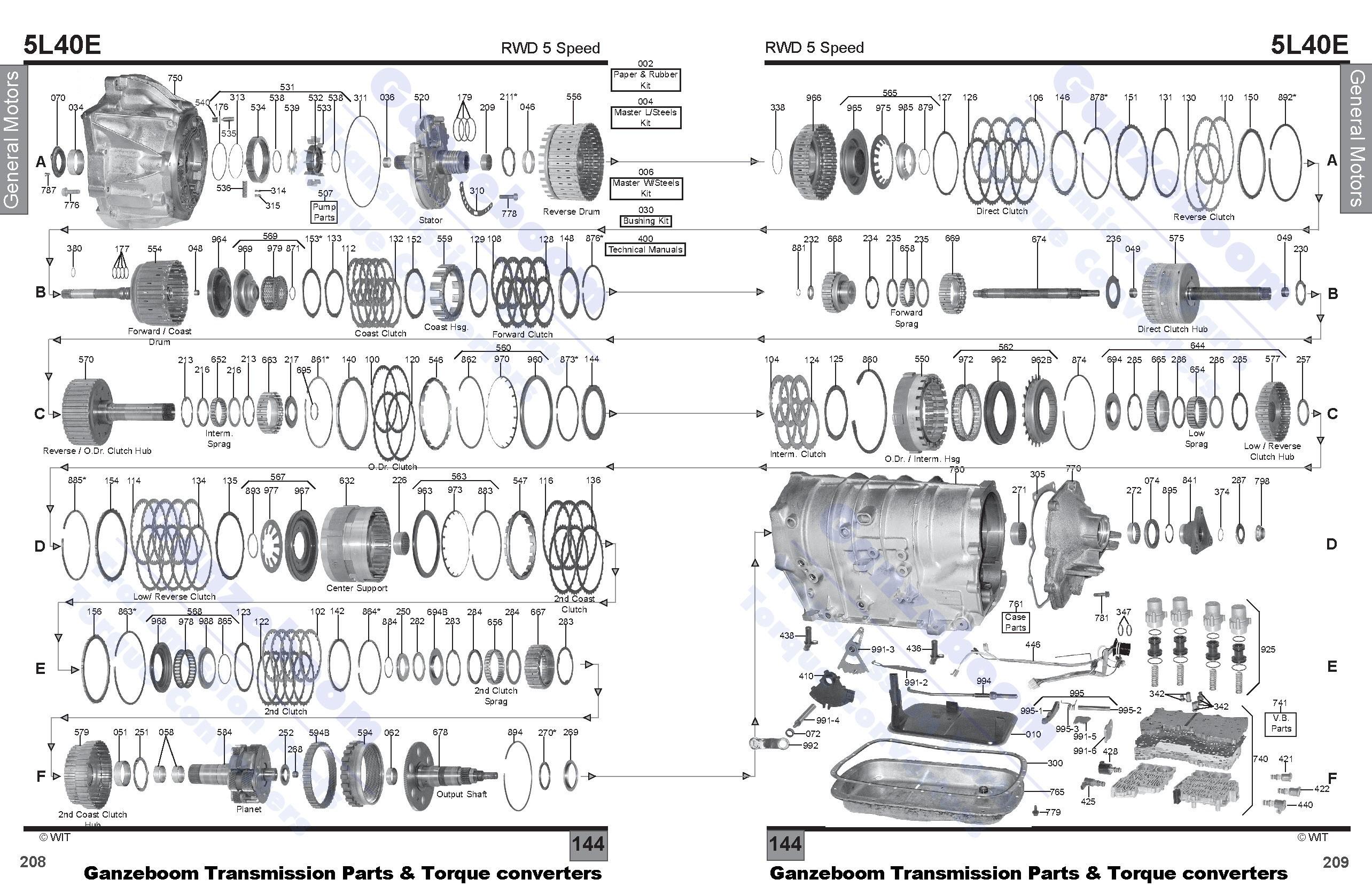 Allison Parts Diagram