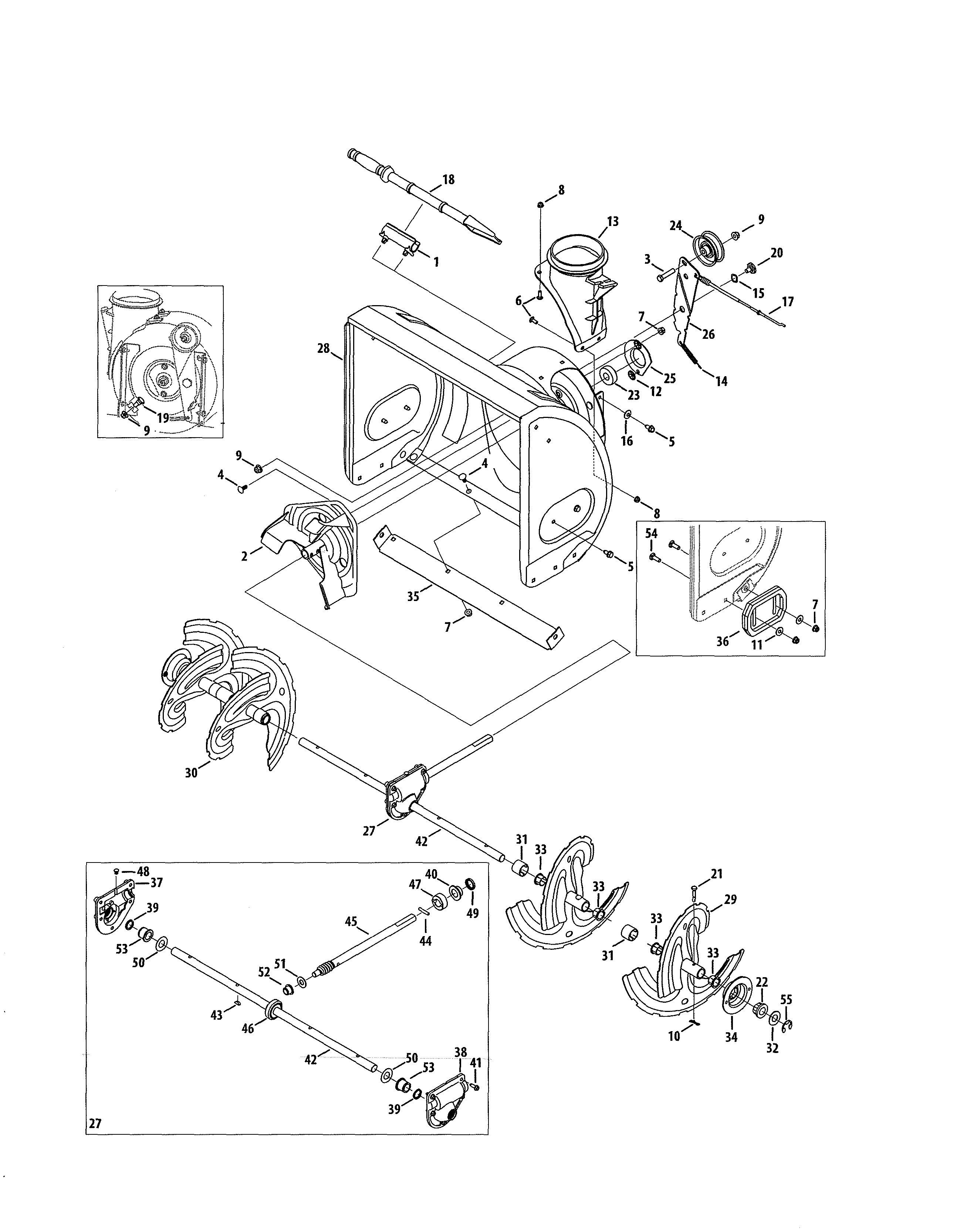 Auto parts diagram manual get craftsman parts and free manual for model 247 gas snow