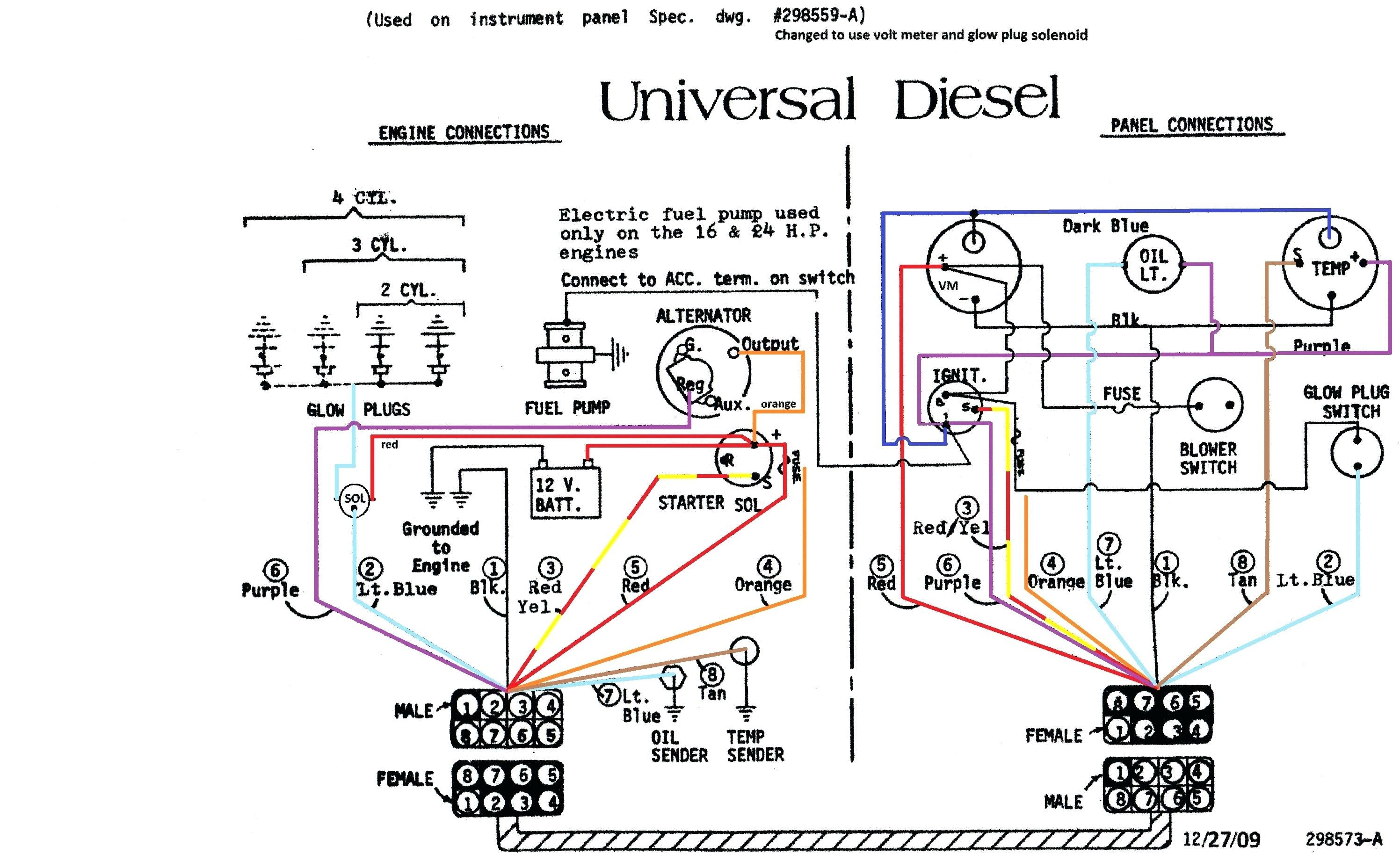 Ford 302 Alternator Wiring Diagram