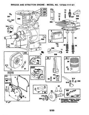 Best Briggs And Stratton 550 Series Carburetor Diagram