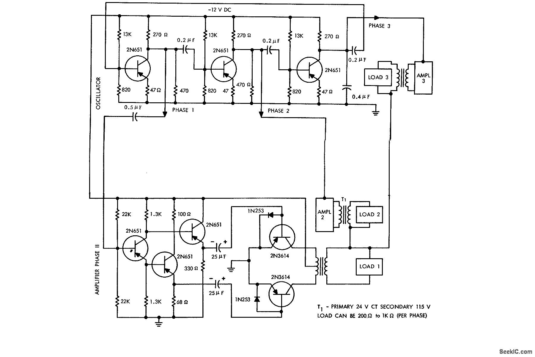 Phase Converter Wiring Diagram
