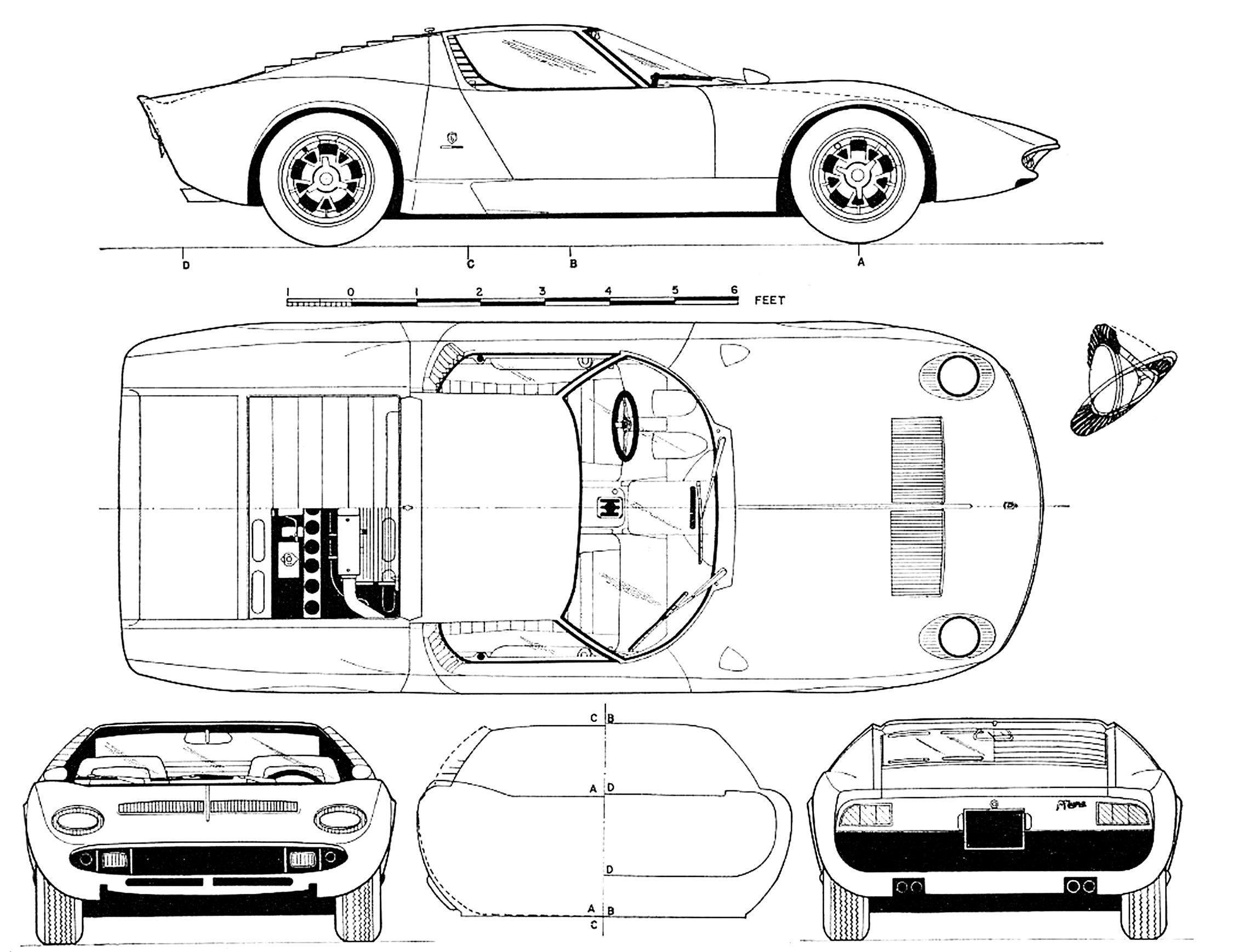 Car Skeleton Diagram