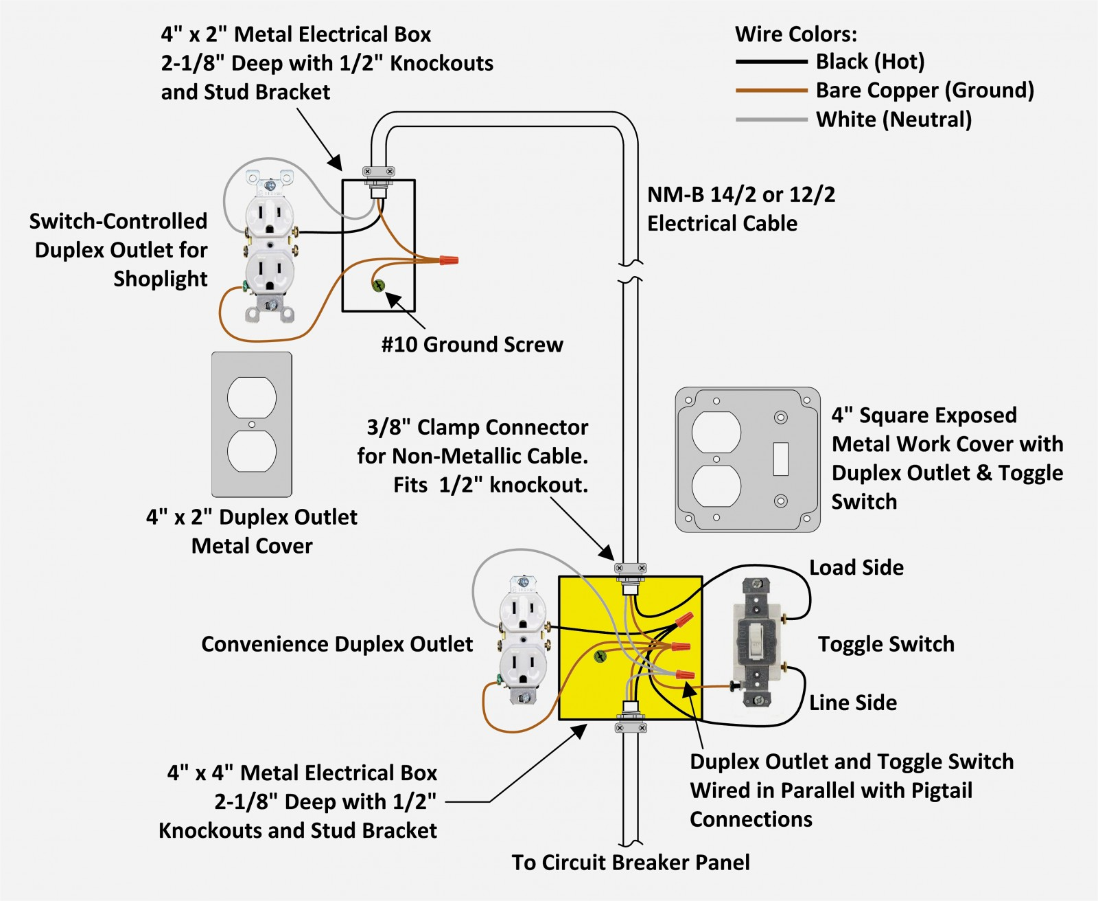 Rocker Switch Schematic