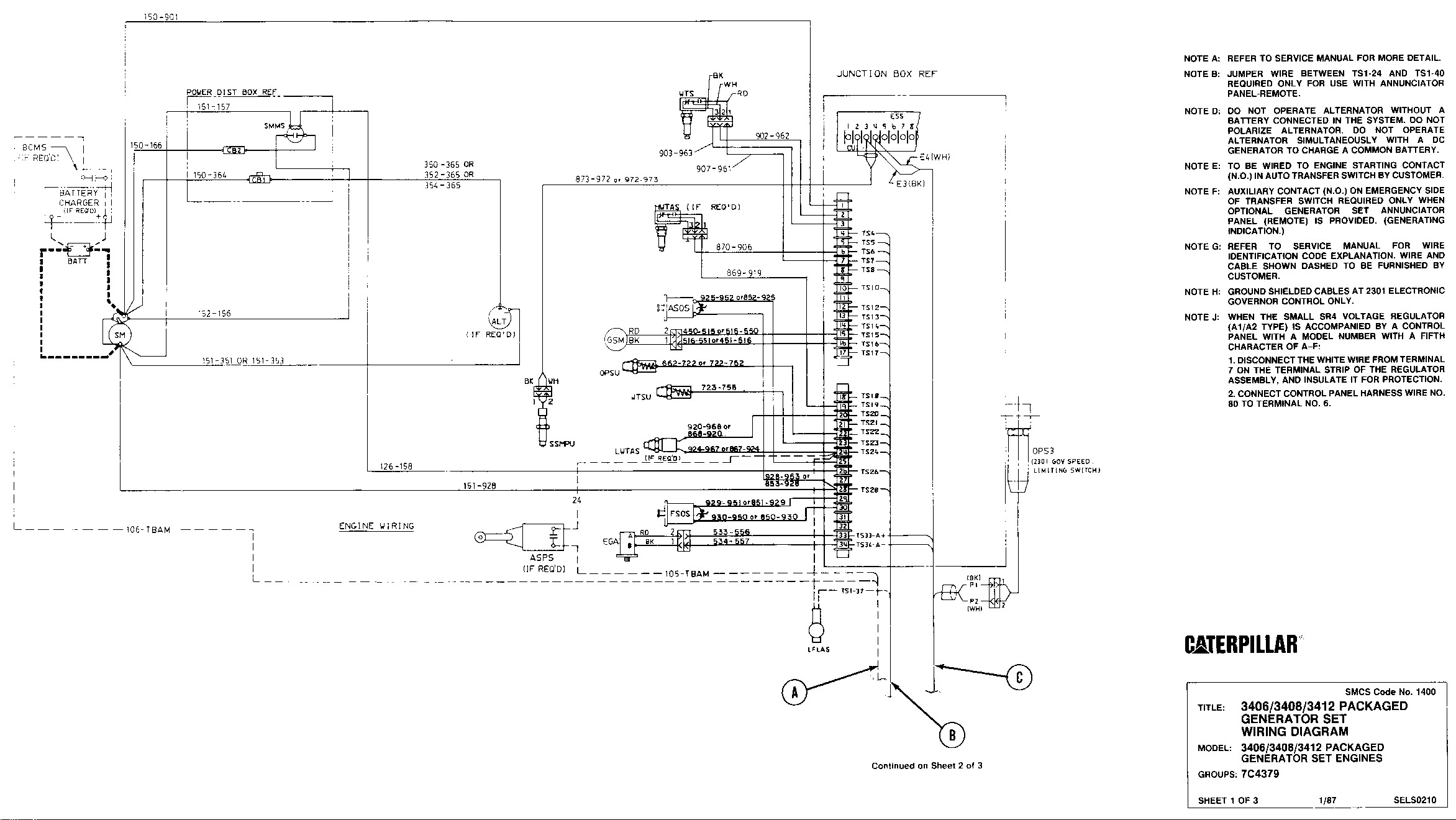 Cat C7 Engine Ecm Wiring Diagram