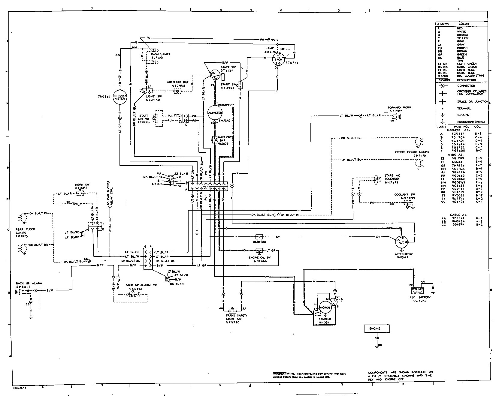 A C Schematic Diagram