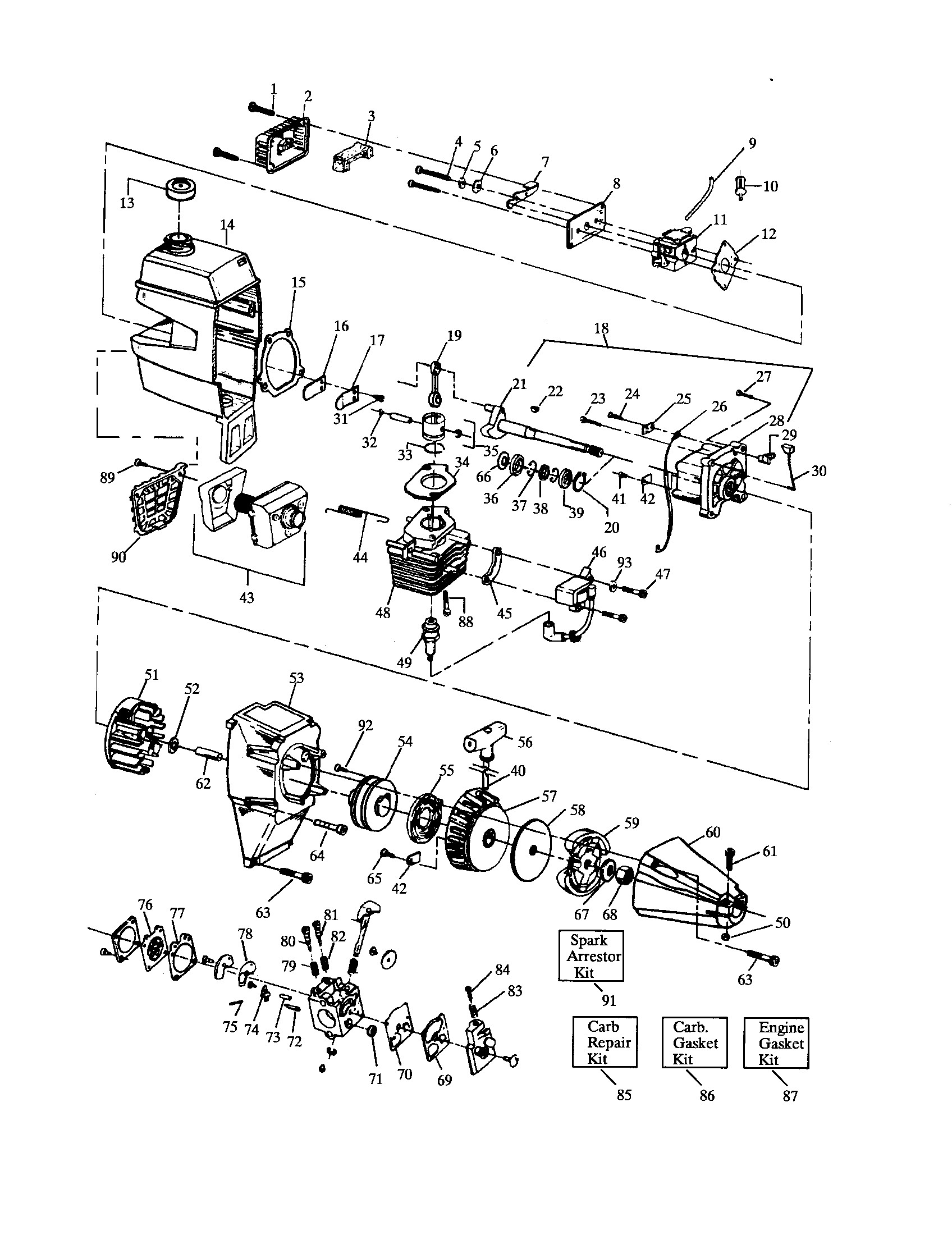 For 917250560 Craftsman Lawn Tractor Wiring Diagram