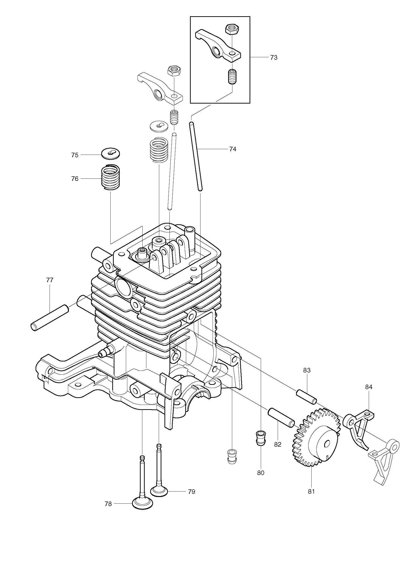 Diagram Of Four Stroke Petrol Engine