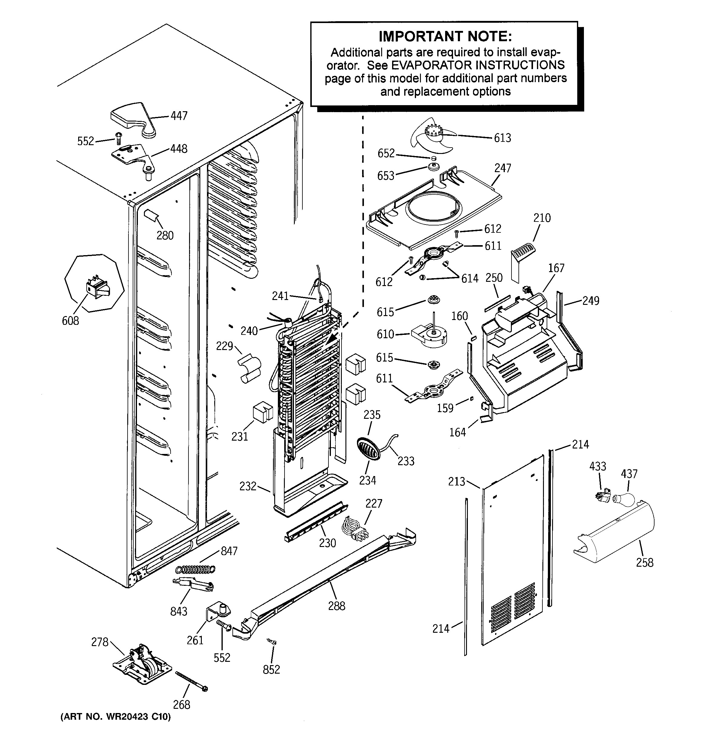 Ge ice maker parts diagram ge refrigerator t series parts model gss25wstmss of ge ice maker