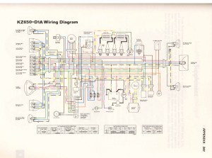 Kawasaki Kz1100 1982 Wiring Diagram  Wiring Diagram And