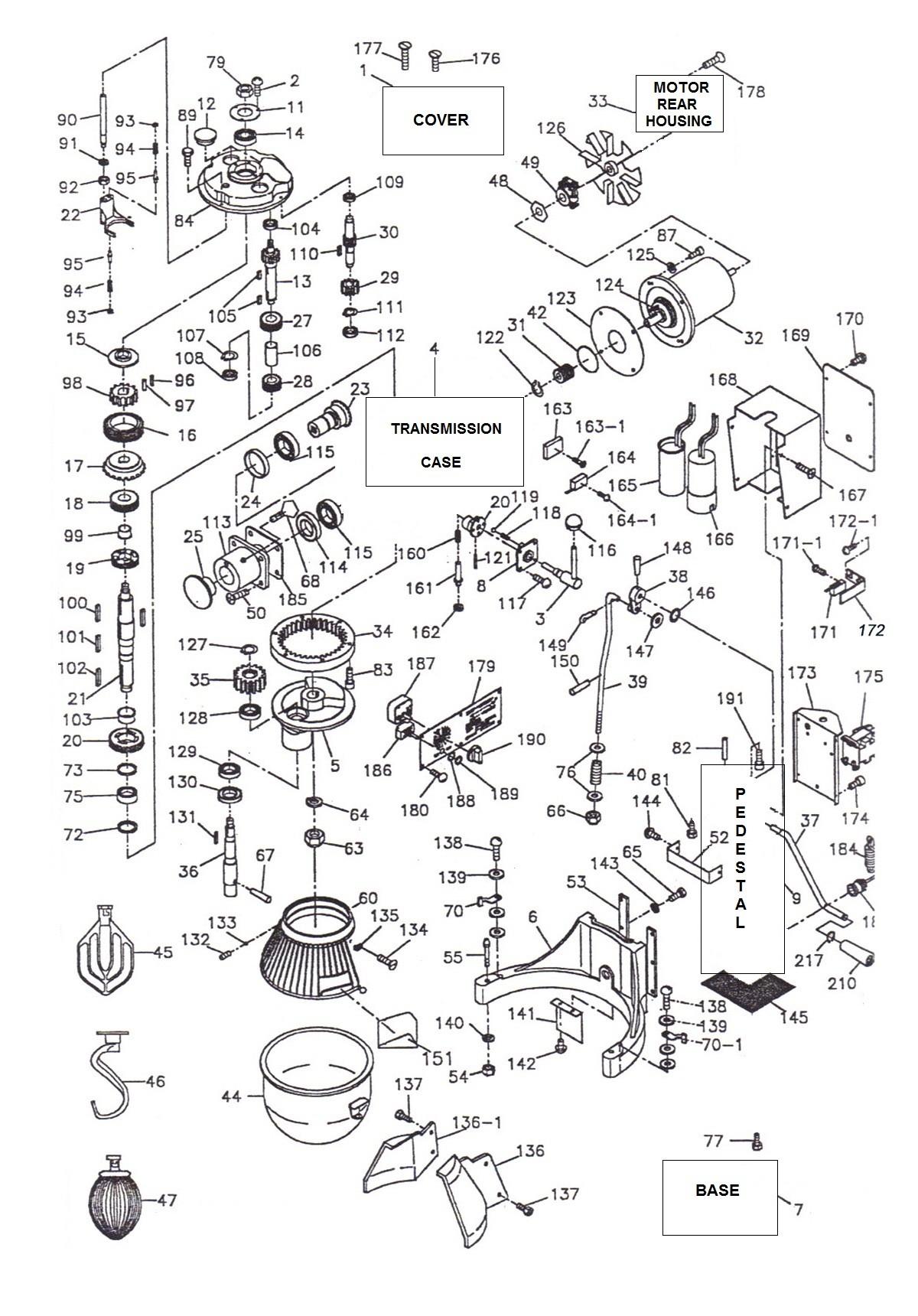 Thunderbird Mixer Wiring Diagram - Wiring Diagrams