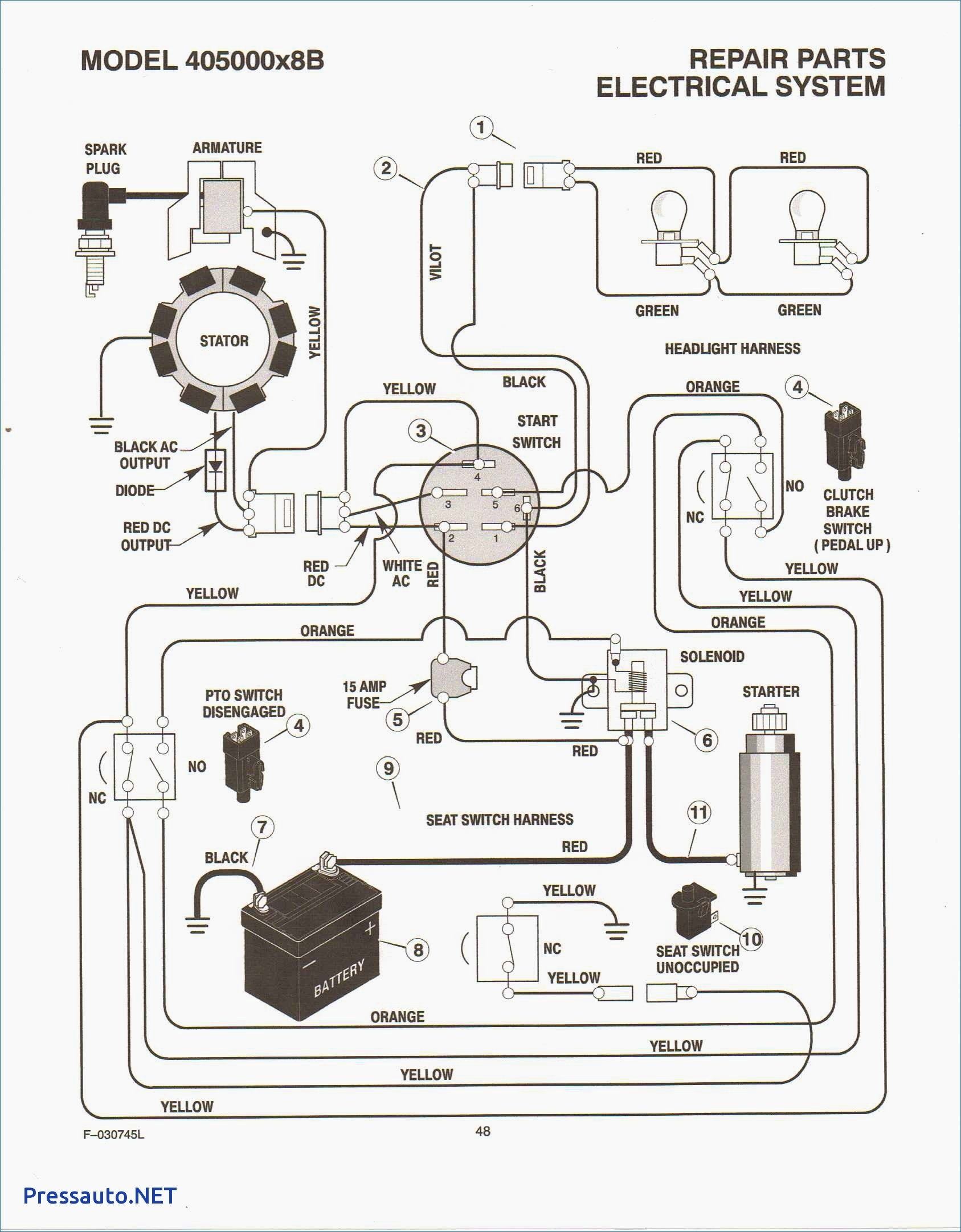 Kohler Engine Wiring Harness Diagram