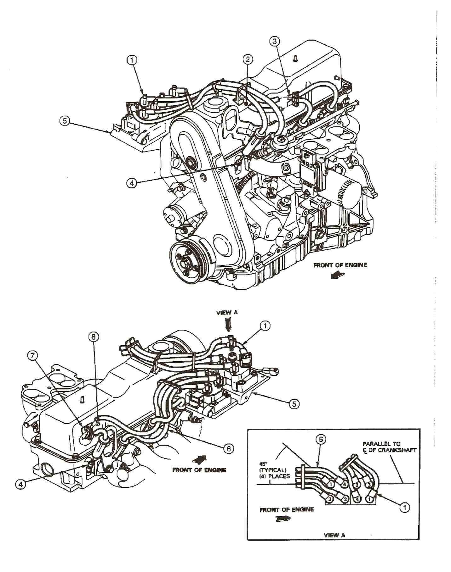 Mazda B Engine Diagram