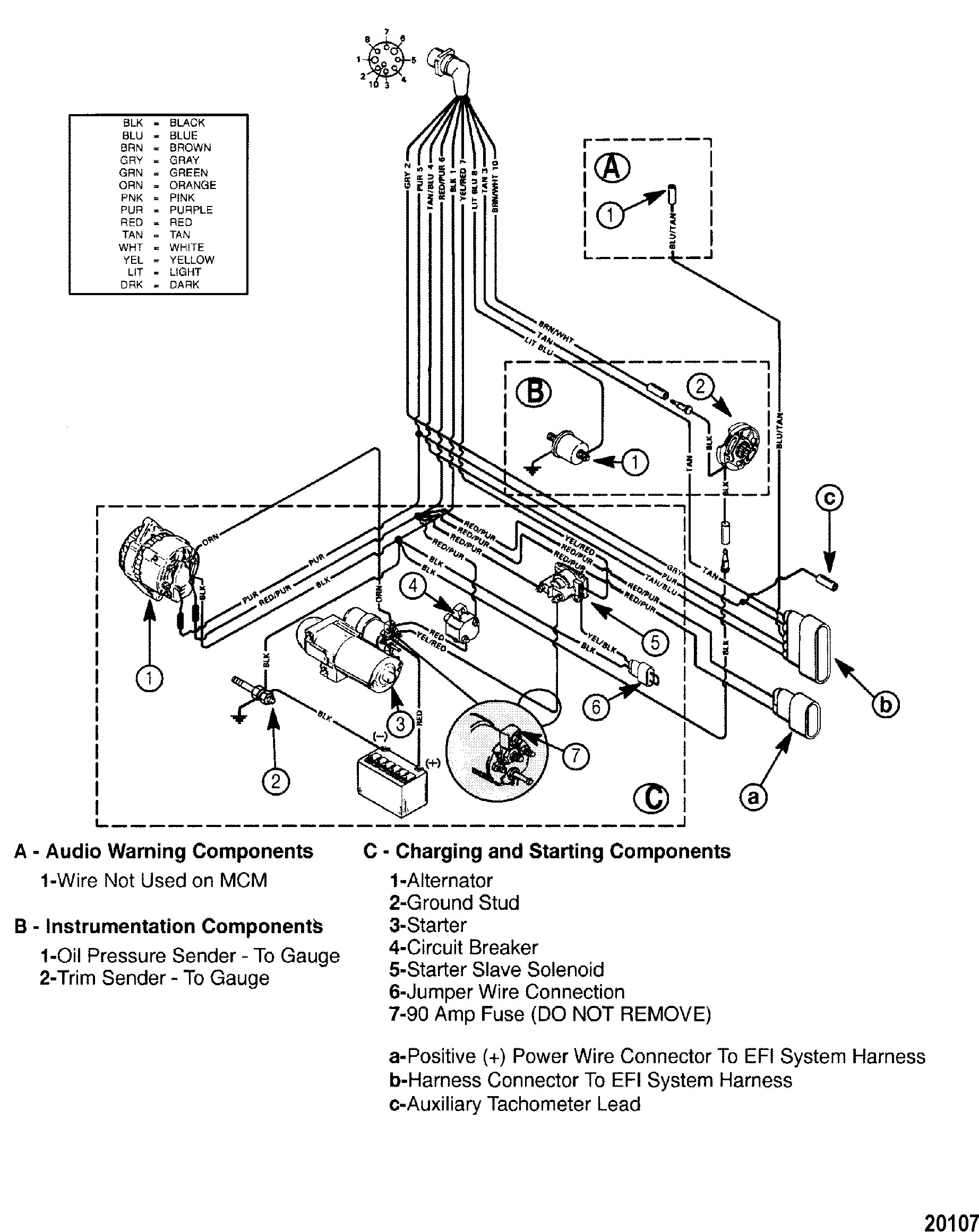 Mercruiser 470 Engine Diagram N N N N