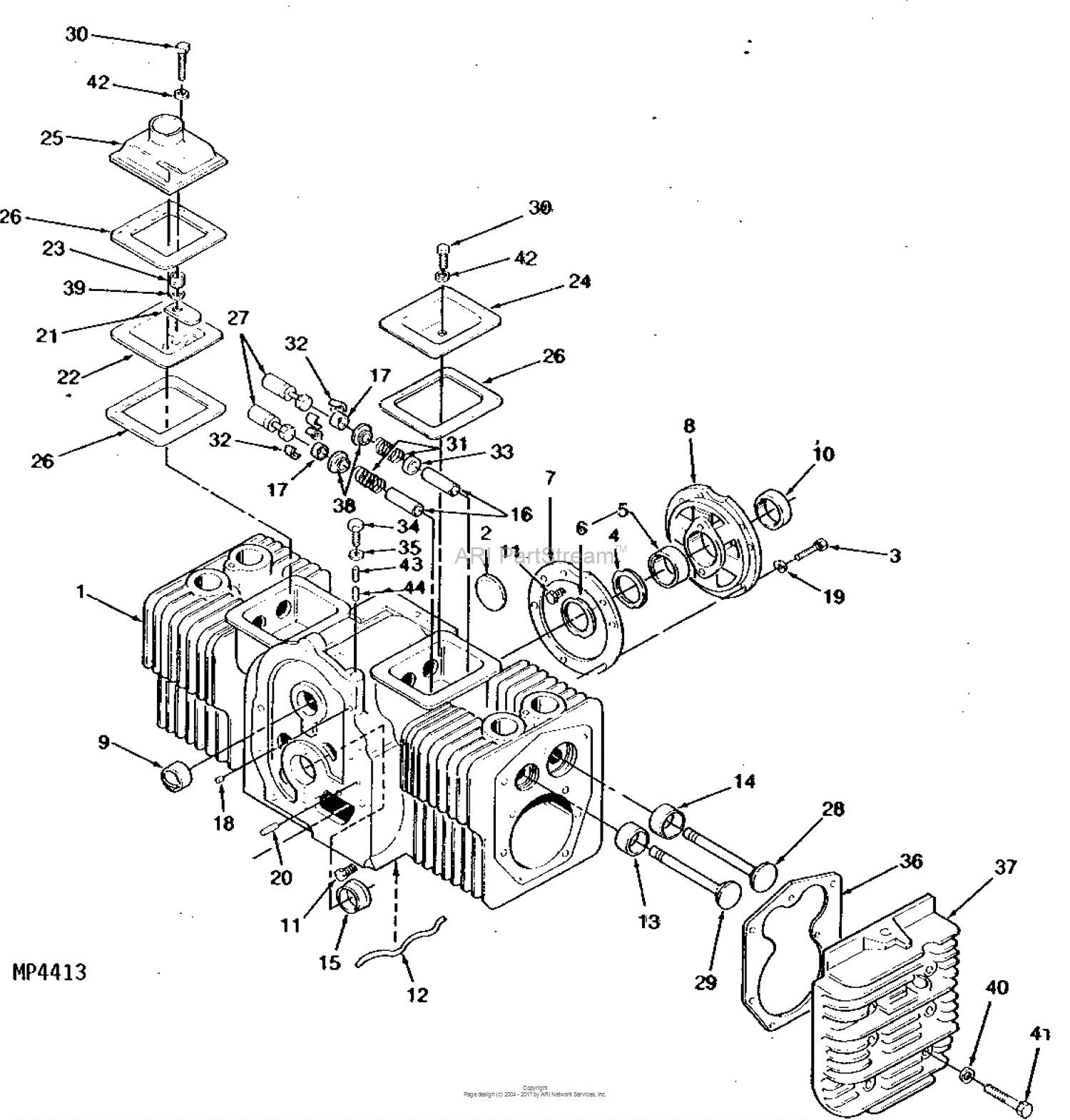 Onan engine parts diagram john deere parts diagrams john deere 317 hydrostatic tractor 17 hp of