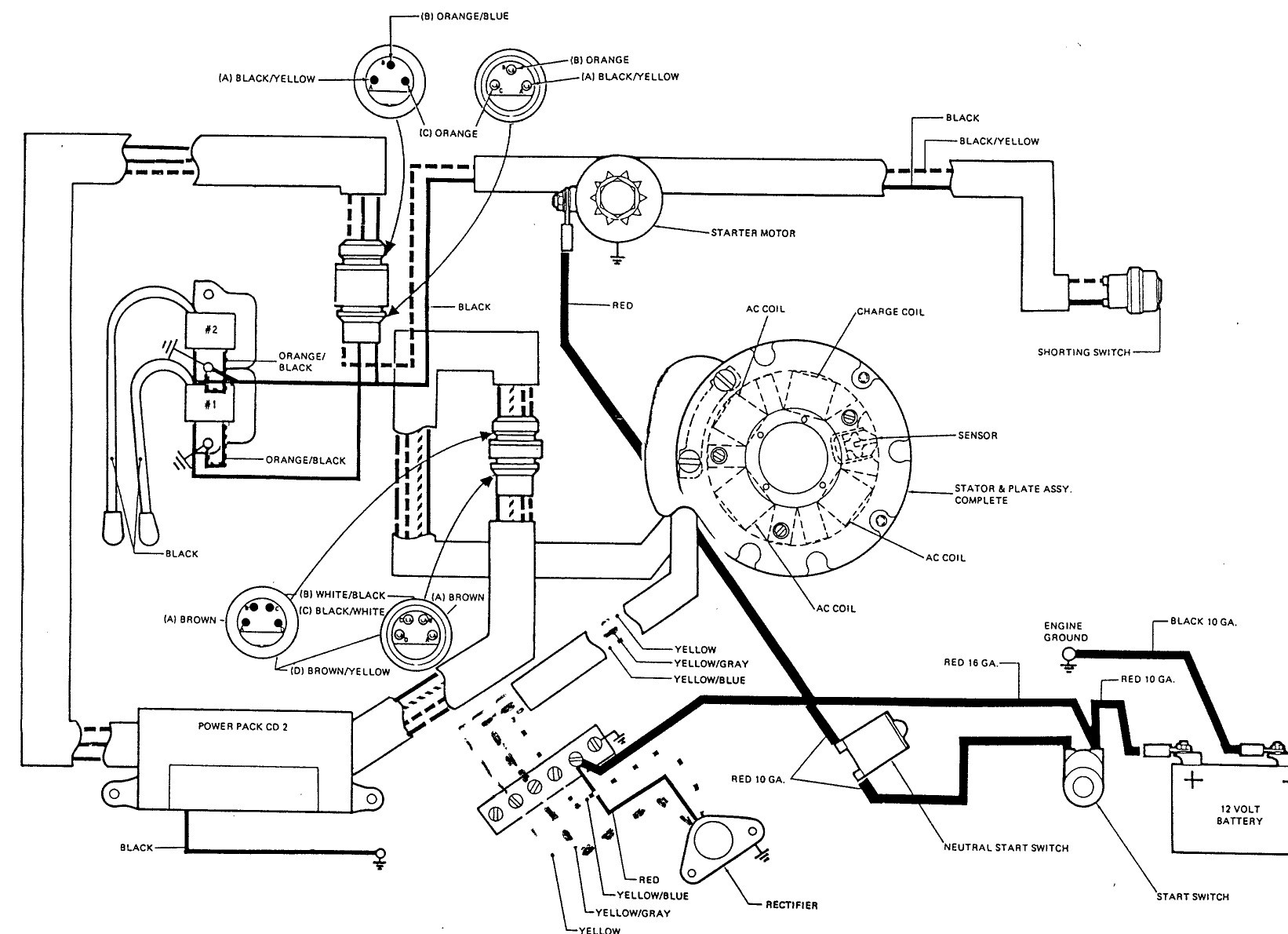 Outboard Engine Diagram