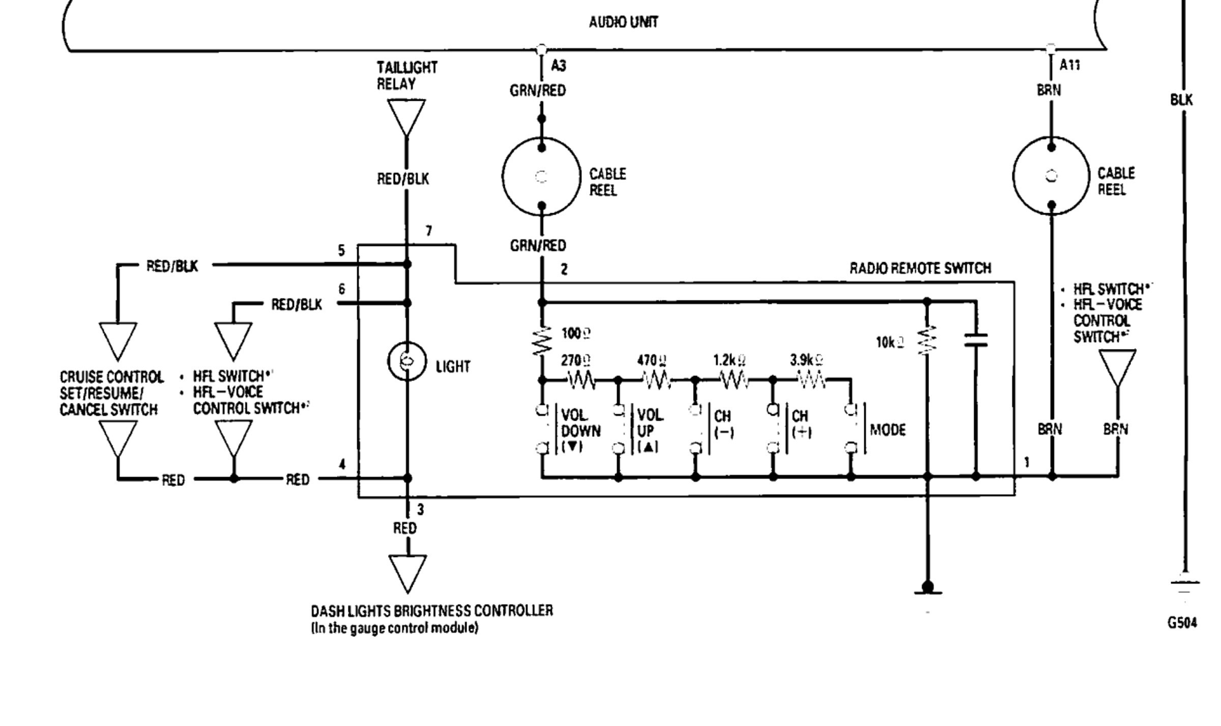 Power Steering Schematic Diagram