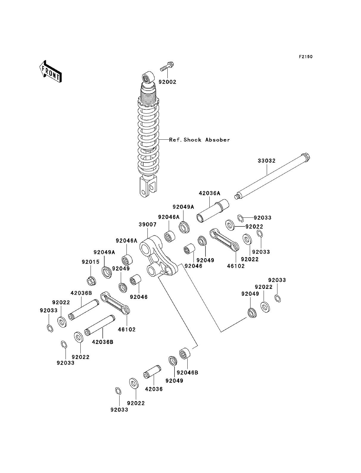 Rear Drum Brake Parts Diagram