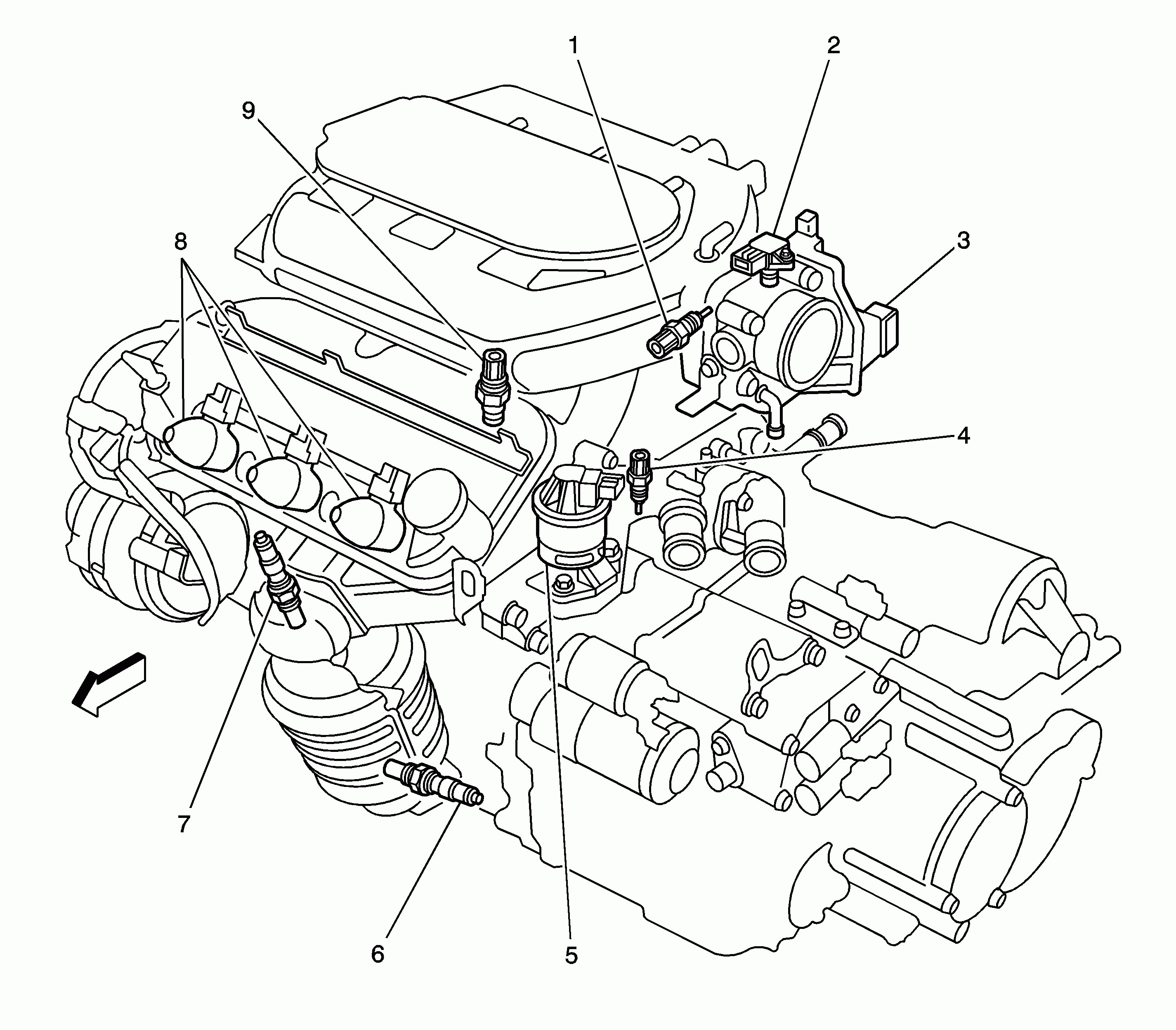 2001 Chevy Astro Engine Diagram