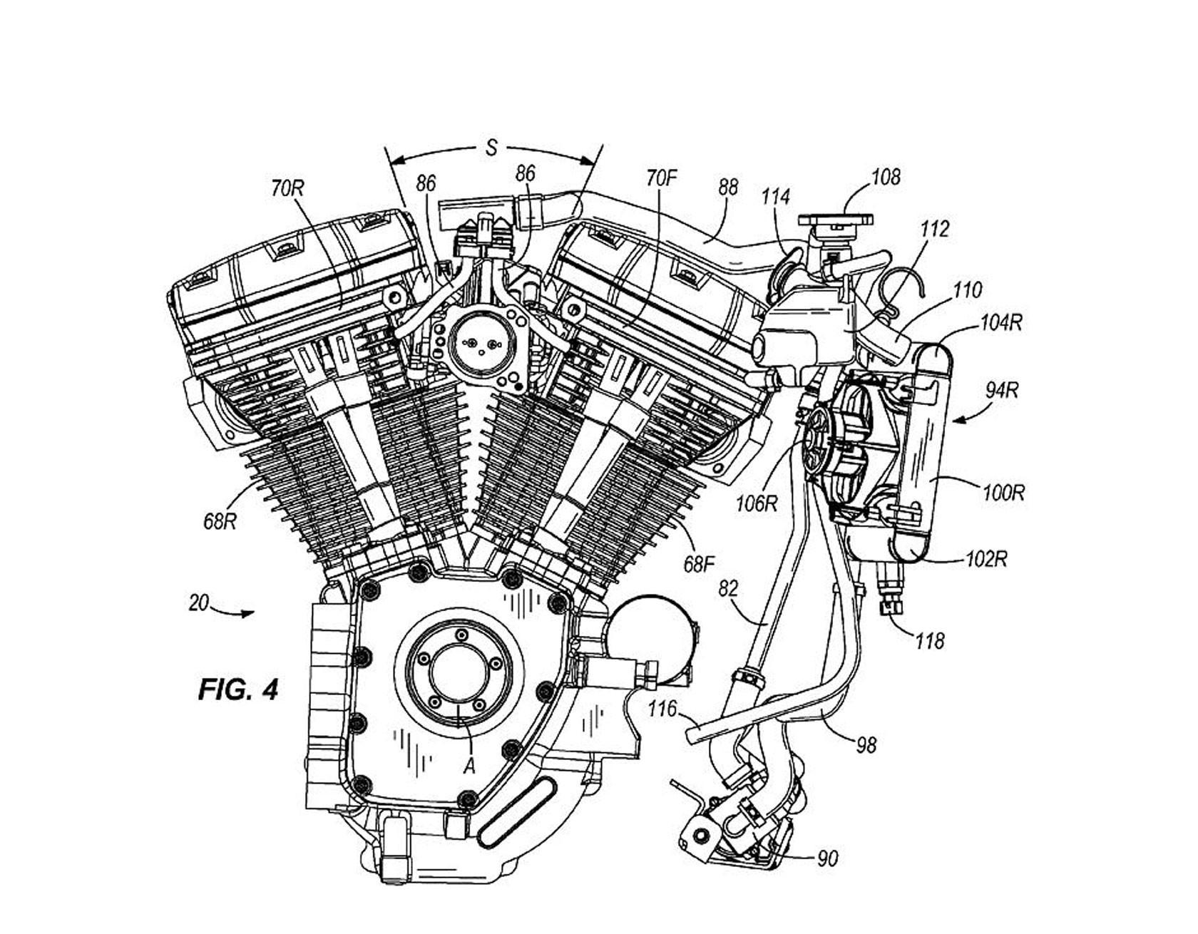 V Twin Engine Diagram