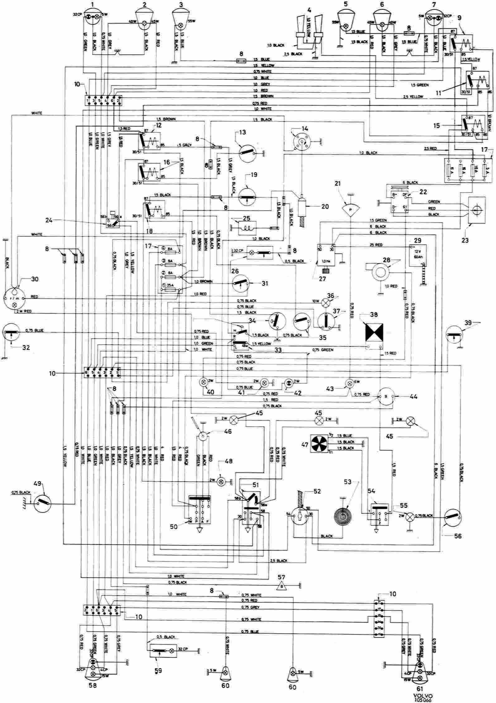 Volvo 660 Truck Wiring Diagrams