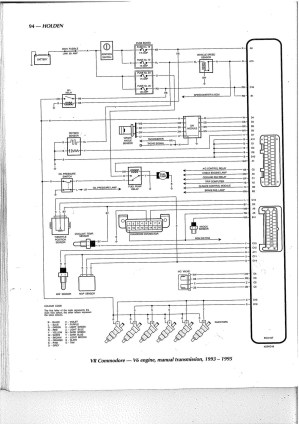 Vt Commodore Engine Diagram | My Wiring DIagram
