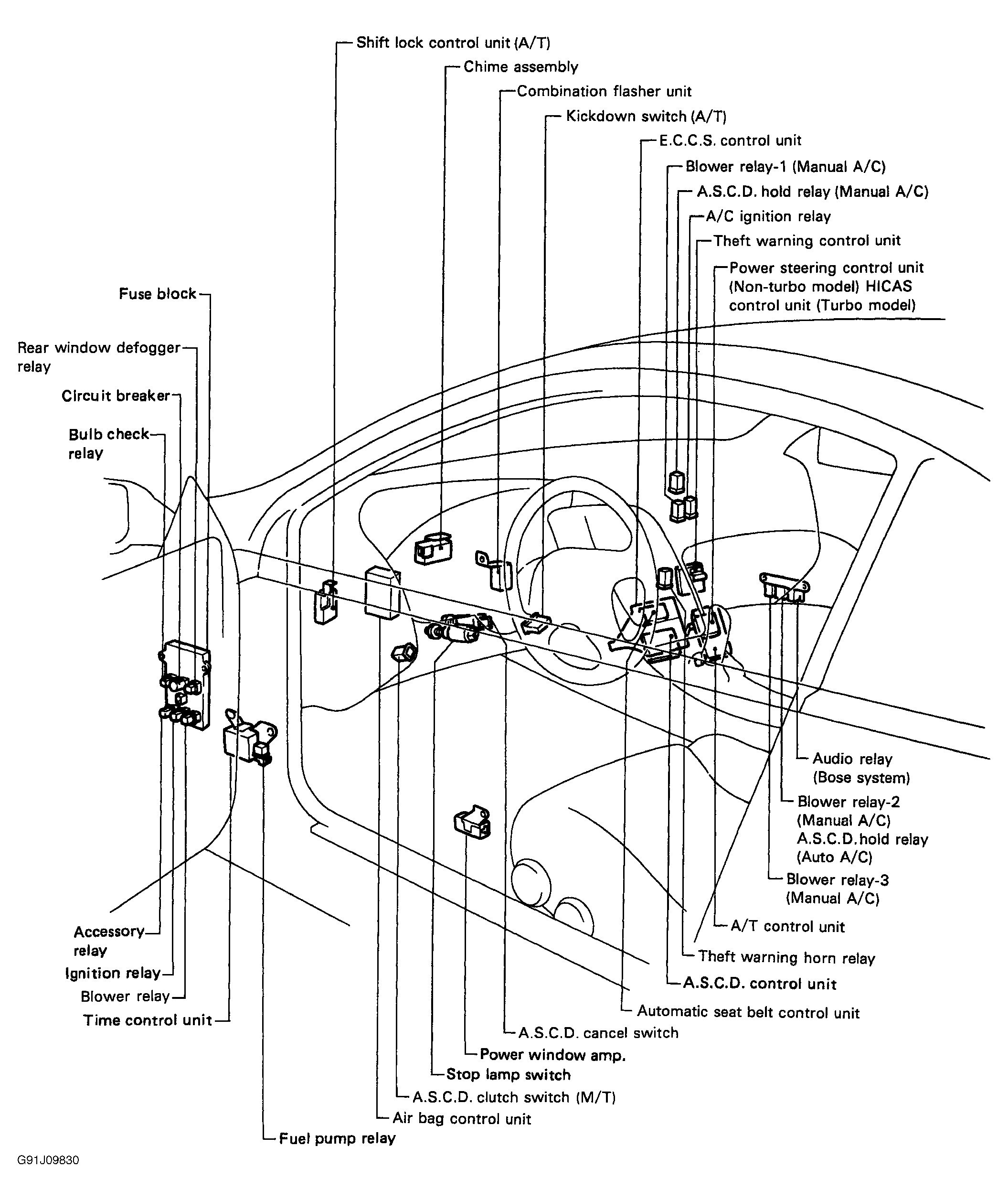 Power Window Wiring Diagram Nissan Maxima Power Window Wiring Diagram