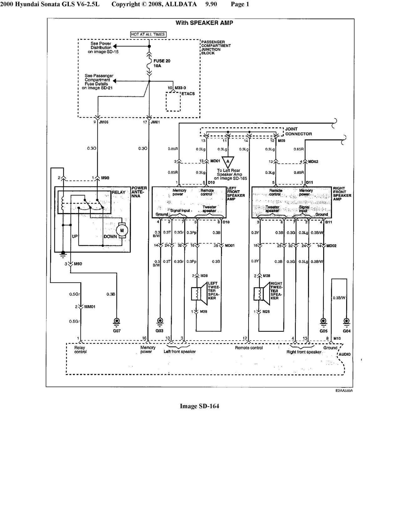 Wiring Diagram Hyundai Elantra Headlight Wiring