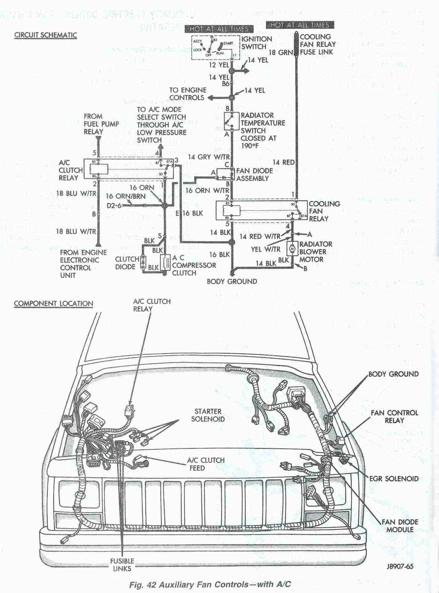 Jeep Grand Cherokee Ac Diagram