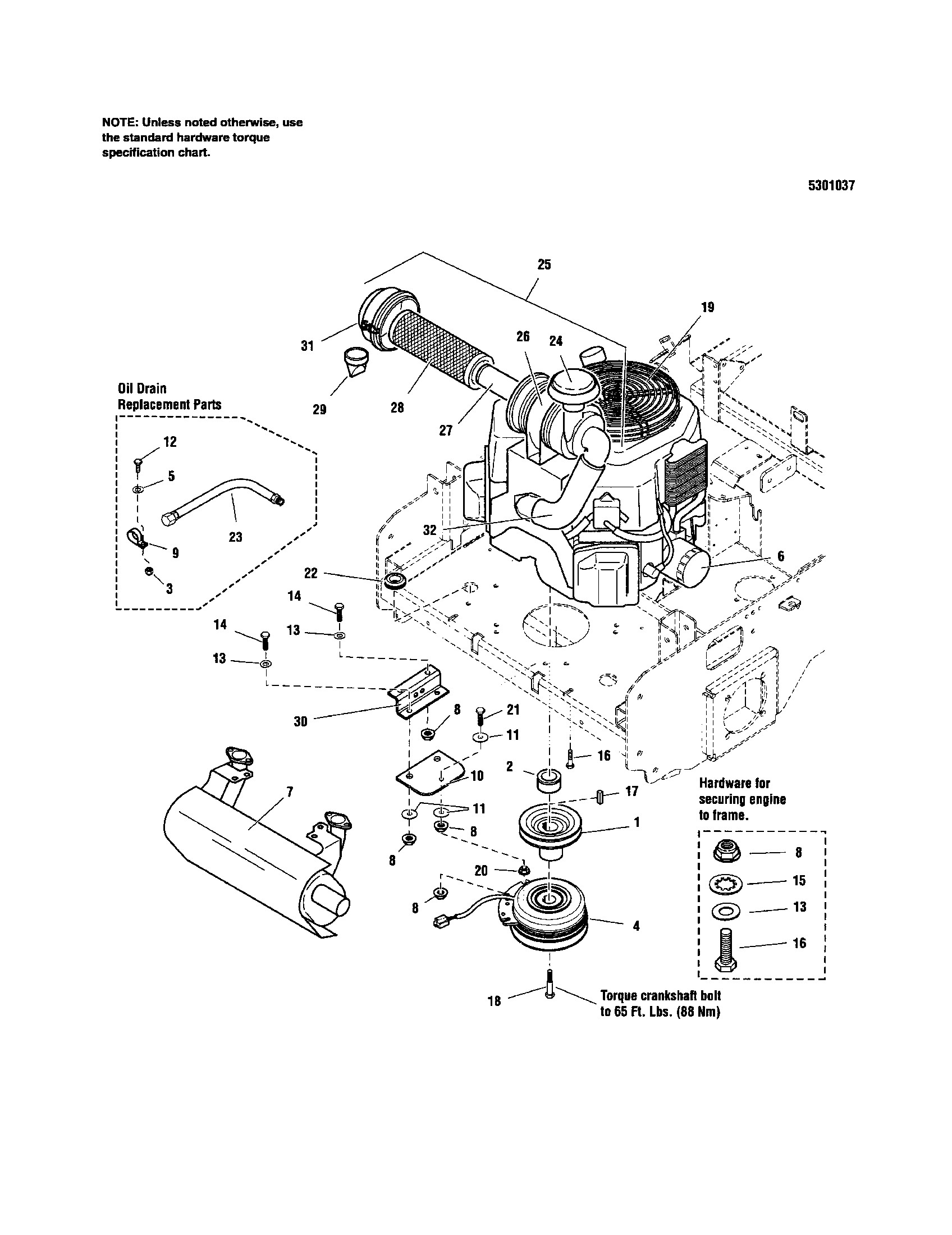 Kohler Magnum 12 Parts Manual