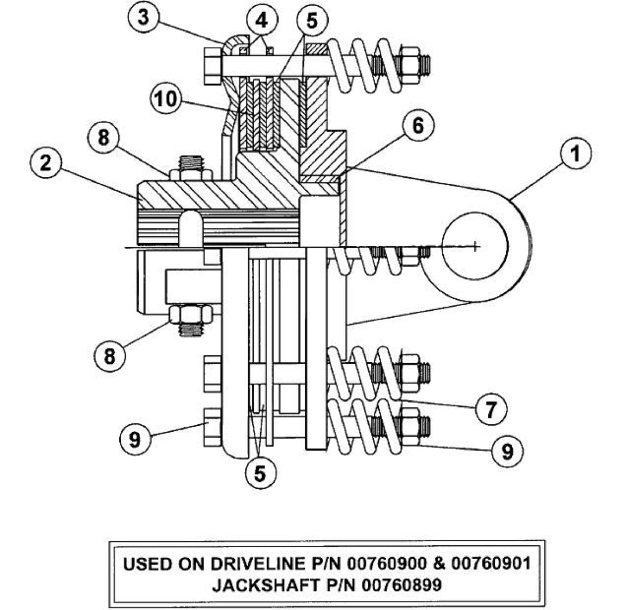 Clutch Assembly Diagram Yamaha G16 Ap Ar Primary