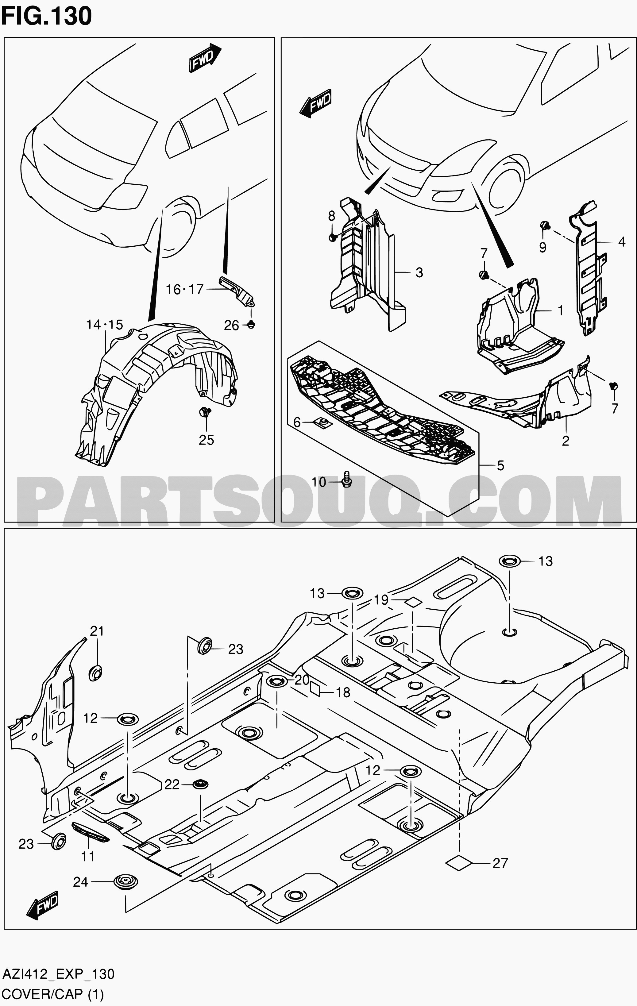 Diagram of car parts in spanish 130 cover cap 4dr of diagram of car parts in