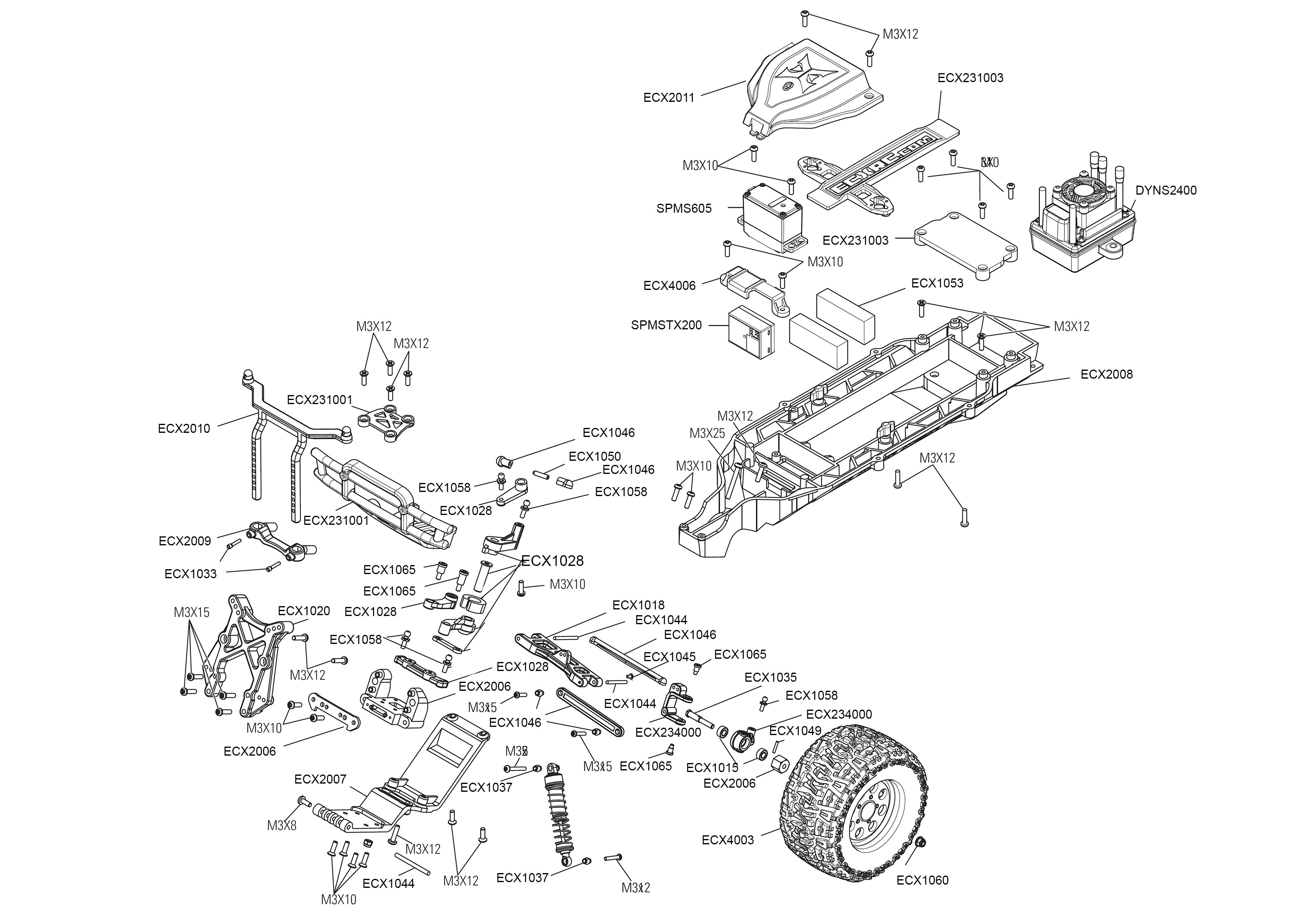 Exploded Engine Diagram